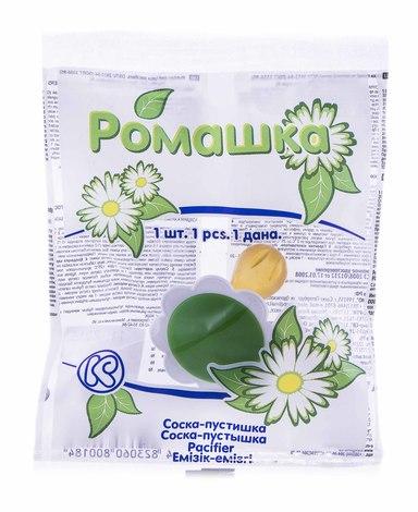 Київгума Пустушка-ромашка дитяча 1 шт