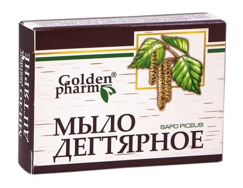 Голден-Фарм Дігтярне мило 70 г 1 шт