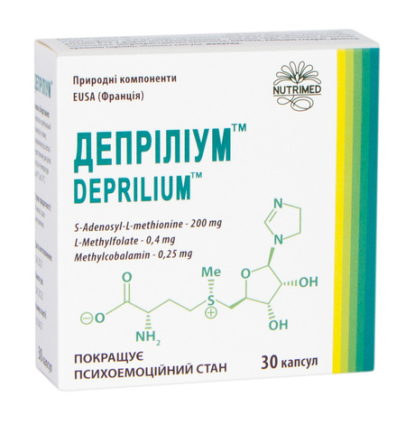 Депріліум капсули 340 мг 30 шт