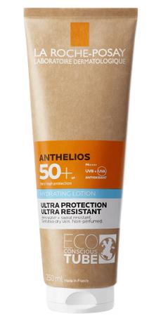 La Roche-Posay Anthelios Сонцезахисне зволожувальне молочко для обличчя та тіла SPF50+ 250 мл 1 туба