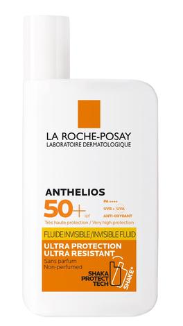 La Roche-Posay Anthelios Флюїд ультра-легкий для чутливої шкіри, схильної до сонячної непереносимості SPF-50+ 50 мл 1 флакон