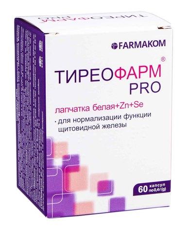 Тиреофарм PRO капсули 60 шт