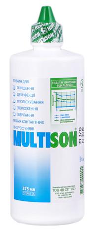 Multison Розчин для лінз 375 мл 1 флакон