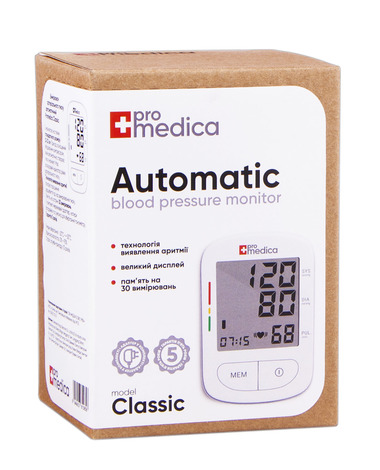 ProMedica Classic Тонометр автоматичний 1 шт