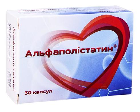 Альфаполістатин капсули 30 шт