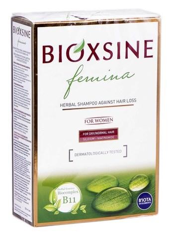 Bioxsine Феміна Шампунь проти випадіння для сухого та нормального волосся 300 мл 1 флакон