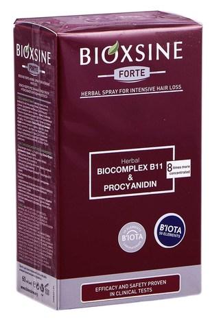 Bioxsine Forte Спрей проти інтенсивного випадіння волосся 60 мл 1 флакон