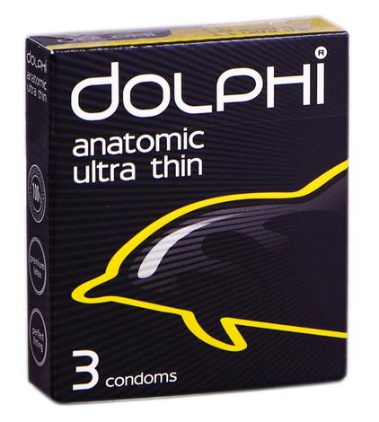 Dolphi Презервативи Anatomic Ultra Thin 3 шт