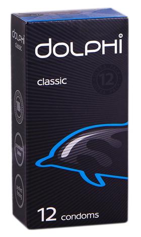 Dolphi Презервативи Classic 12 шт
