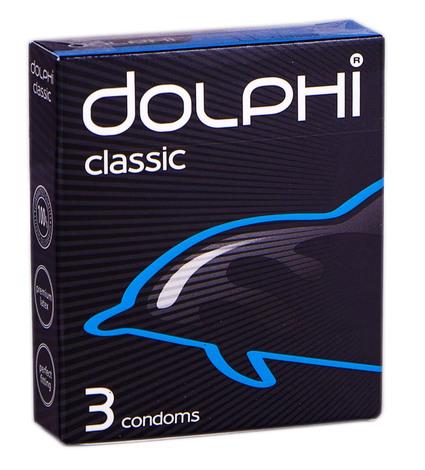 Dolphi Презервативи Classic 3 шт