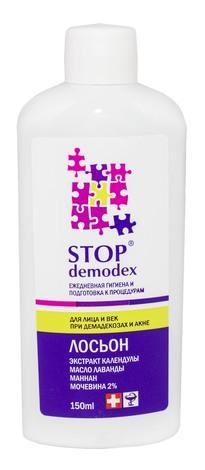 Stop Demodex Лосьйон для обличчя та повік при демодекозі та акне 150 мл 1 флакон