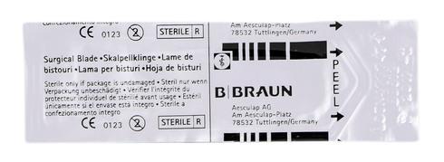 B.Braun  Лезо для скальпеля карбонове 12 1 шт