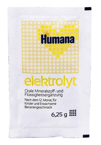Humana Електроліт з бананом від 1 року 6,25 г 1 пакет
