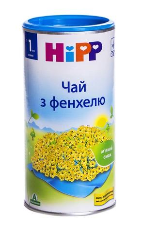 HiPP Чай з фенхелю з 1-го тижня 200 г 1 банка