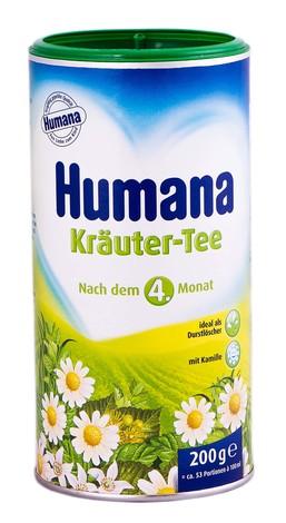 Humana Чай травяний збір з ромашкою з 4 місяців 200 г 1 банка