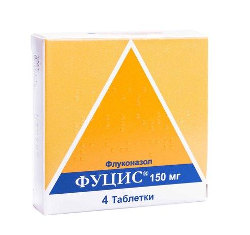Фуцис таблетки 150 мг 4 шт
