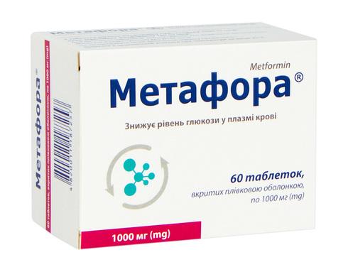 Метафора таблетки 1000 мг 60 шт