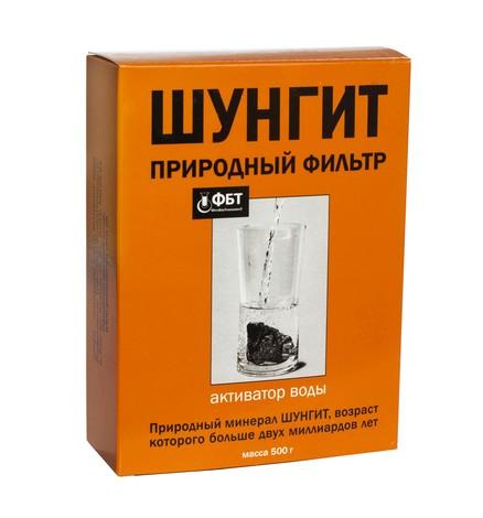 ФітоБіоТехнології Шунгіт активатор води 500 г 1 коробка