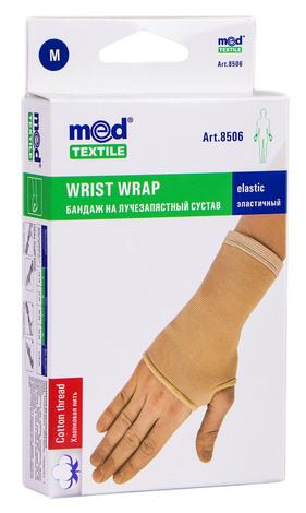 MedTextile 8506 Бандаж на променево-зап'ястковий суглоб еластичний розмір M 1 шт