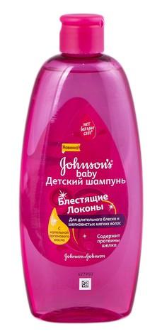 Johnson's Baby Шампунь для дітей Блискучі локони 300 мл 1 флакон
