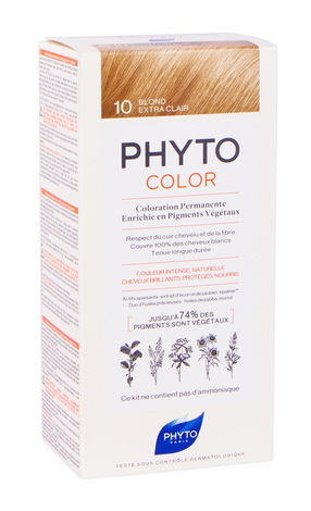 Phyto Color Крем-фарба тон №10 екстрасвітлий блондин 100 мл 1 комплект