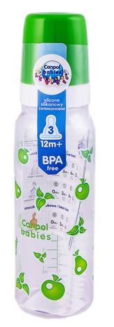 Canpol Babies Пляшечка з малюнком пластикова від 12 місяців 11/810 250 мл 1 шт