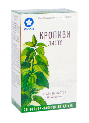 Віола Кропиви листя 1,5 г 20 фільтр-пакетів