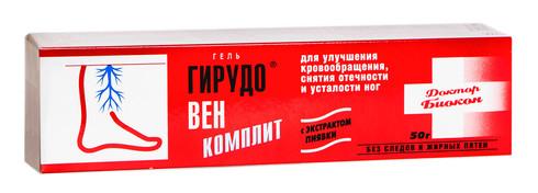 Гірудовен-Компліт гель 50 г 1 туба