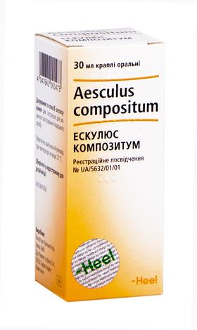 Ескулюс Композитум краплі оральні 30 мл 1 флакон