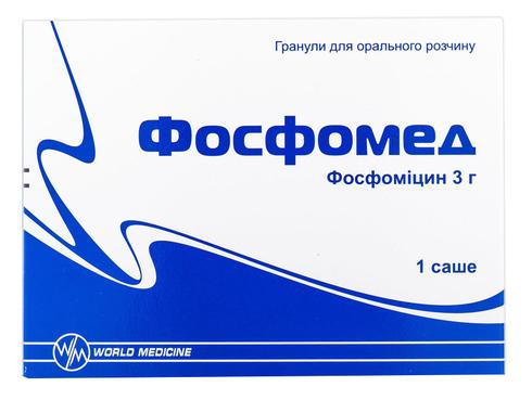 Фосфомед гранули для орального розчину 3 г 1 саше