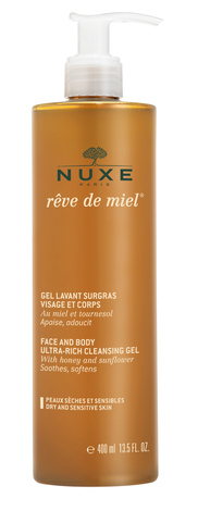 Nuxe Медова мрія Гель універсальний для обличчя і тіла 400 мл 1 флакон