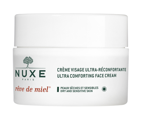 Nuxe Медова мрія Крем ультра-комфорт денний для обличчя для сухої та чутливої шкіри 50 мл 1 банка