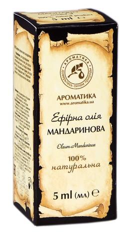 Ароматика Олія ефірна мандаринова 5 мл 1 флакон