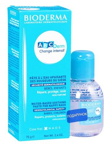 Bioderma ABCDerm Change intensif крем 75 г + Н2О 100 мл 1 набір