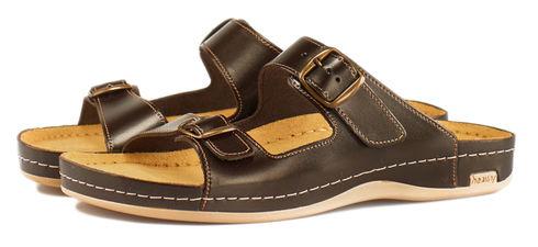 Leon 702 Медичне взуття чоловіче коричневого кольору 43 розмір 1 пара