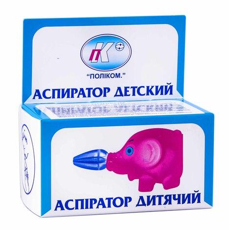 Поліком Аспіратор дитячий Слоник 1 шт