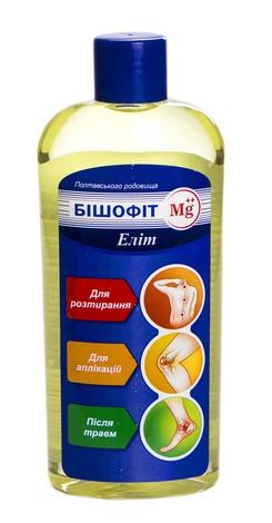 Бішофіт Mg++ Еліт розчин 250 мл 1 флакон