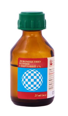 Левоміцетин Arbor Vitae розчин спиртовий 1 % 25 мл 1 флакон