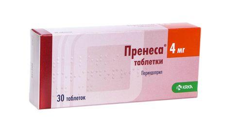 Пренеса таблетки 4 мг 30 шт