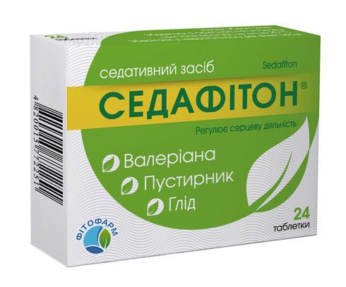 Седафітон таблетки 24 шт