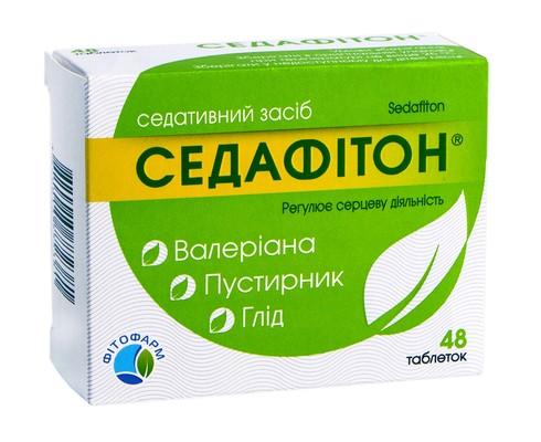Седафітон таблетки 48 шт