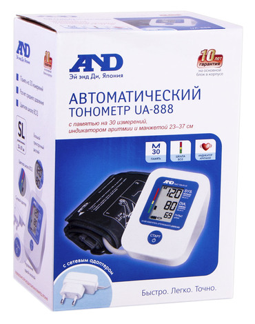 AND UA-888AC Тонометр автоматичний 1 шт
