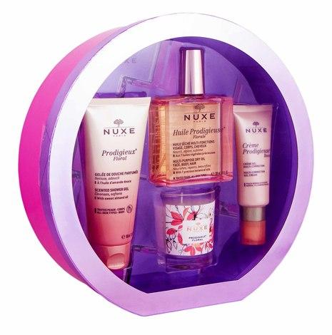 Nuxe Prodigieuse Олія чудова суха для шкіри та волосся 100 мл + Олія суха золота для шкіри та волосся 50 мл 1 набір