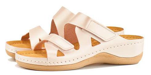 Leon 906 Медичне взуття жіноче перламутрового кольору 41 розмір 1 пара