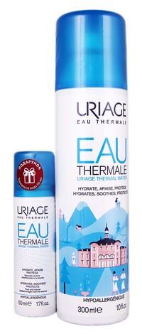Uriage Термальна вода спрей 300 мл + 50 мл 1 набір