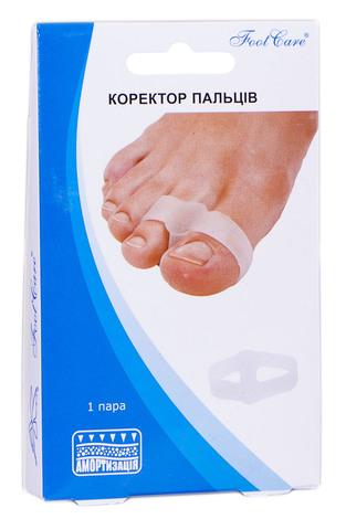 Foot Care GB-03 Коректор пальців розмір S (до 34) 1 пара
