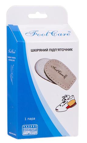 Foot Care ПЛ-001 Підп'яточник шкіряний розмір L (39-46) 1 пара