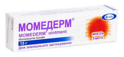 Момедерм мазь 1 мг/г 15 г 1 туба