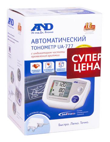 AND UA-777 Тонометр автоматичний електронний з адаптером 1 шт