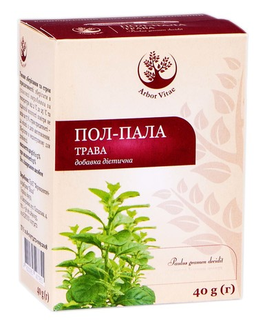 Arbor Vitae Пол-пала трава 40 г 1 пачка